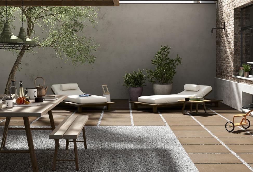 pavimenti esterni veranda giardino