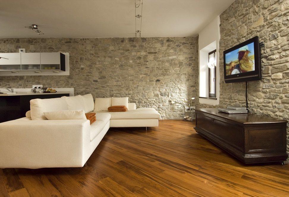 pavimenti interni legno e parquet casa, cucina open space con salotto