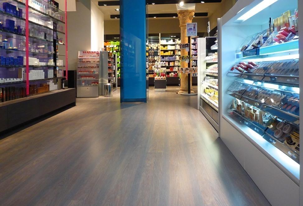 pavimenti laminati negozio