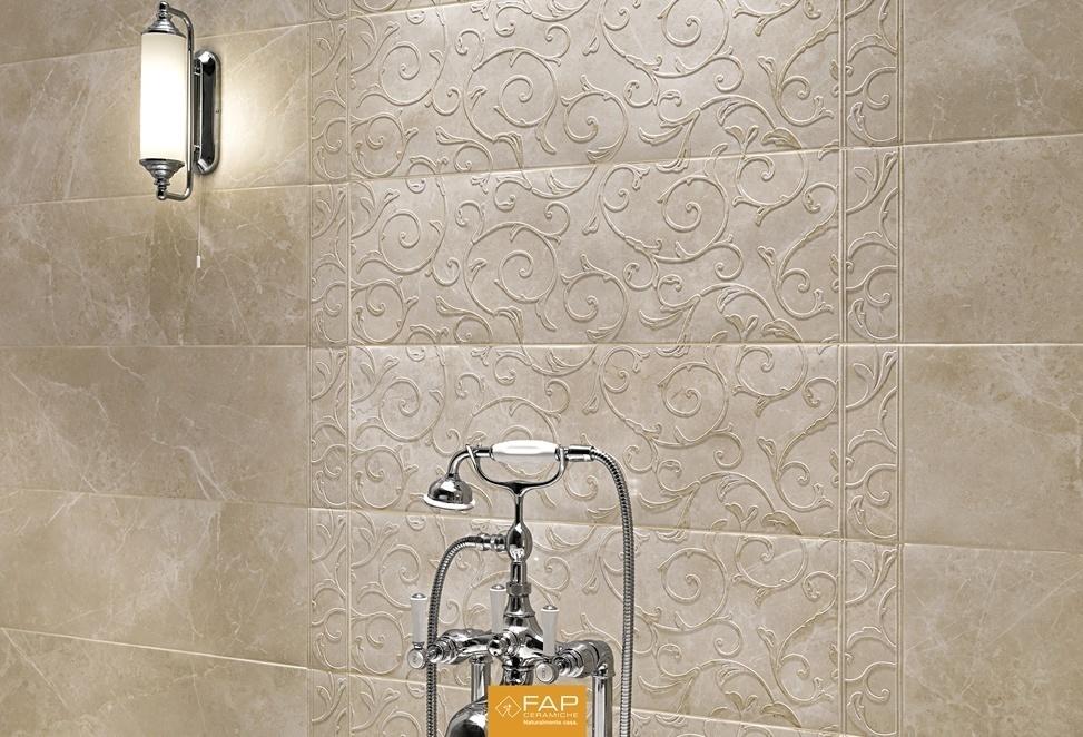 rivestimenti dettaglio vasca da bagno