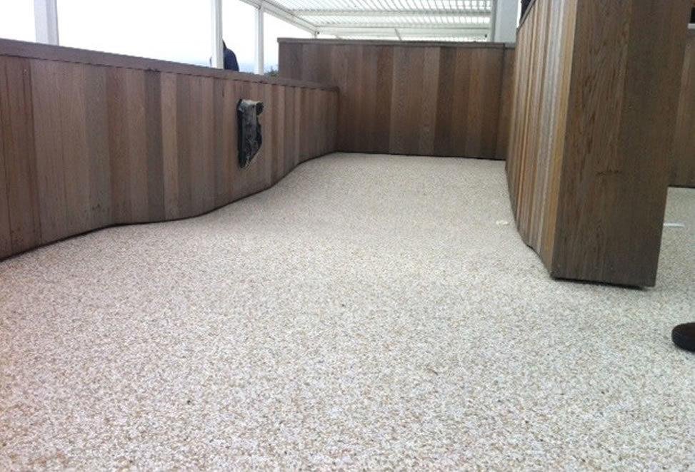 pavimento in graniglia interno ufficio