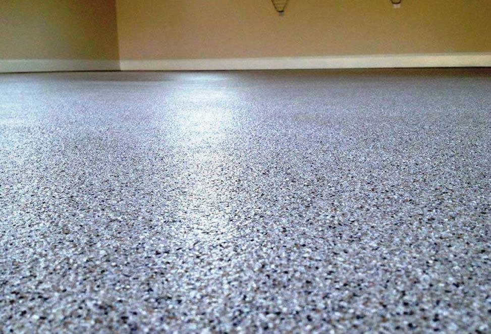 pavimento in graniglia da vicino