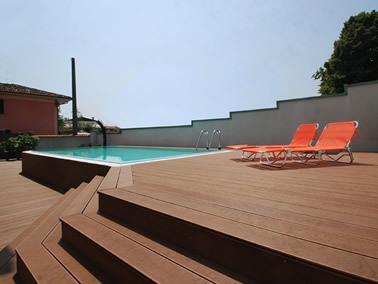 carrara mario pavimenti compositi, esterno piscina