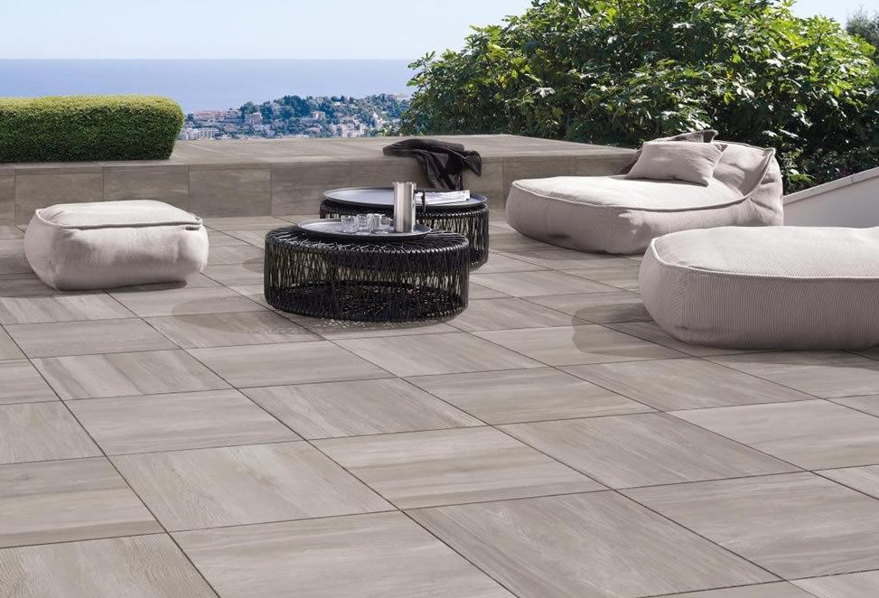 pavimenti gres porcellanato terrazzo esempio bergamo alta