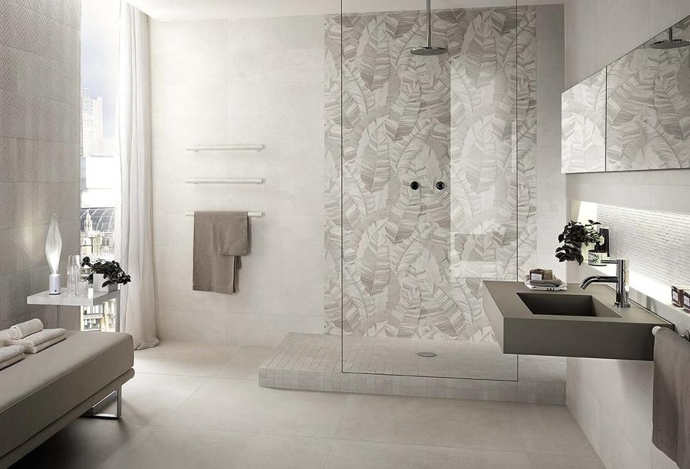 piastrelle bagno bergamo moderno, decorazione a muro