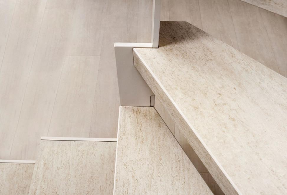 scale gres porcellanato bergamo dettaglio scalini