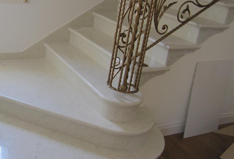 scale marmo granito bergamo dettaglio scale