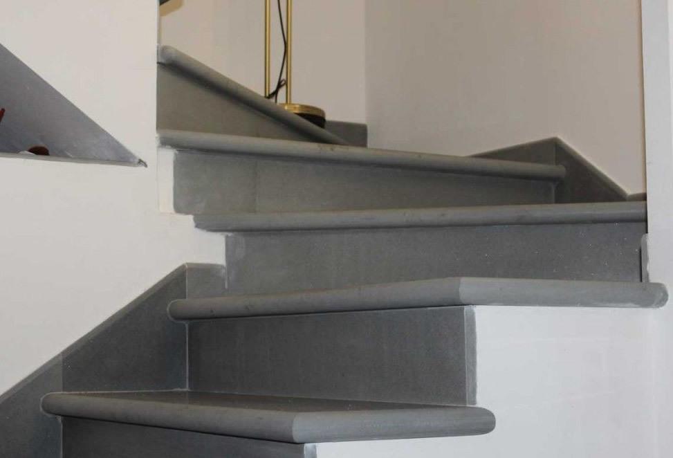 scale pietra naturale bergamo dettaglio